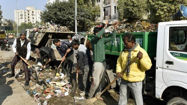 jagmohan-garg-sanitation-workers-strike